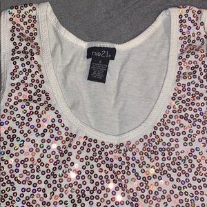 A sparkling tshirt